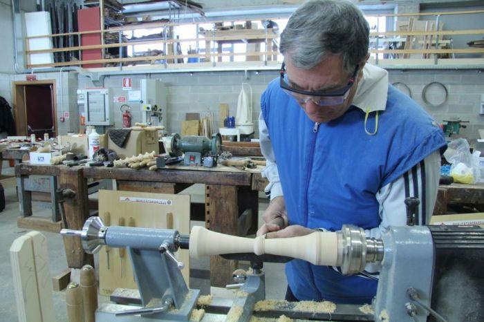 corso tornitura legno
